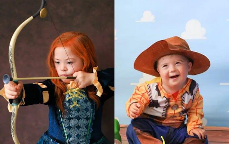 enfants trisomiques photos personnages disney Nicole       Louise Perkins