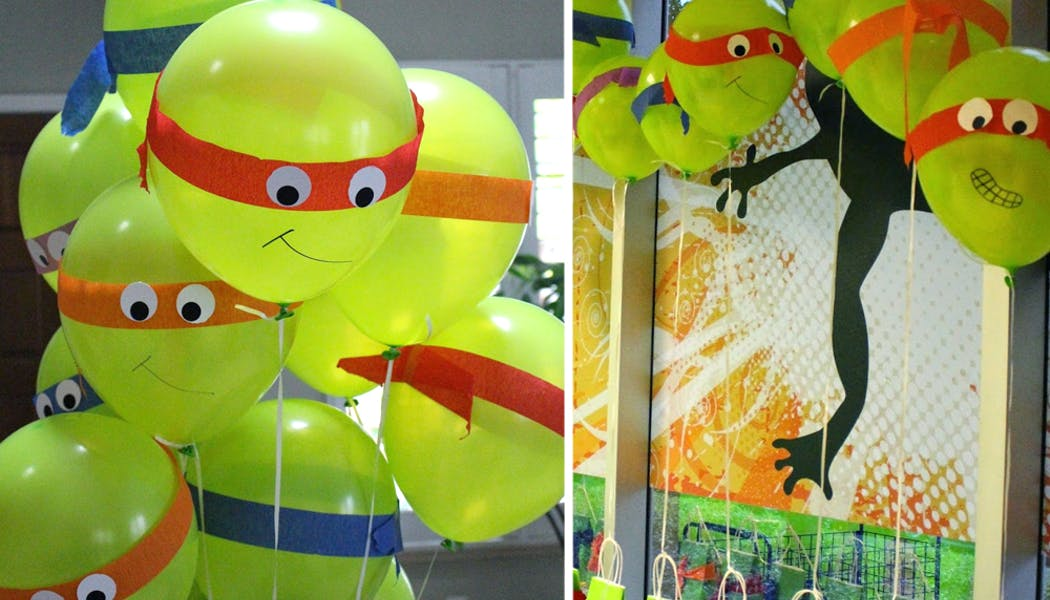 Ballons Tortues Ninja