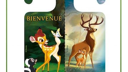 Bambi : pancarte de porte