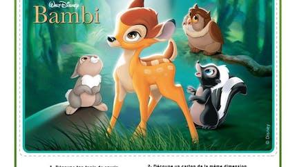 Bambi : tapis de souris