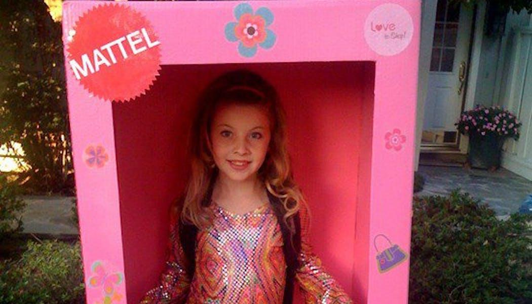 Barbie dans sa boîte !
