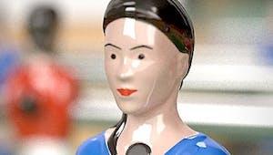 Bientôt un baby-foot avec des figurines féminines !