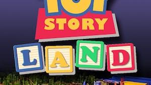 Bientôt un immense parc d'attractions Toy Story Land !