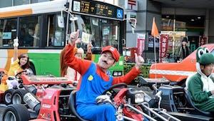Bientôt une course géante Mario Kart à Paris !