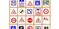 Image Bingo de la route à imprimer