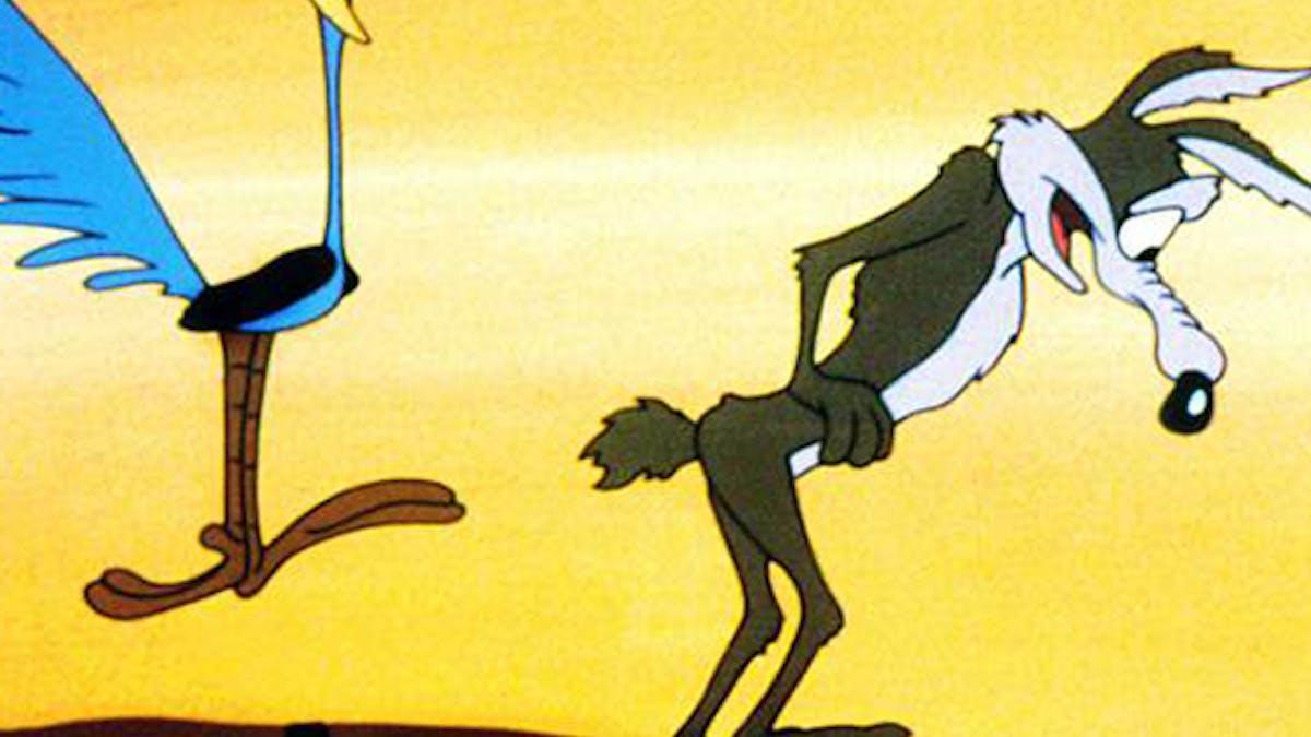 Bip Bip Le Coyotte cinéma Looney Tunes
