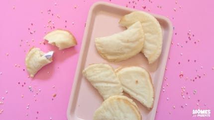 Biscuits de chance (fortune cookies)