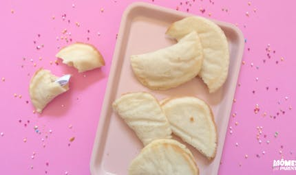 Biscuits de chance (fortune cookies)