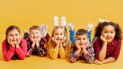 groupe d'enfants