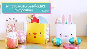 Boîtes de Pâques à imprimer