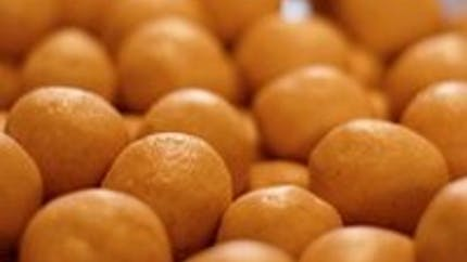Bonbons au beurre de cacahuète