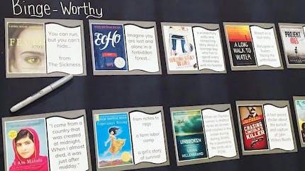 Bookflix : elle détourne Netflix pour donner envie de lire à ses élèves