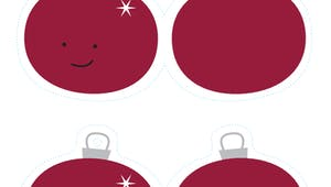 Boules de Noël pour le sapin