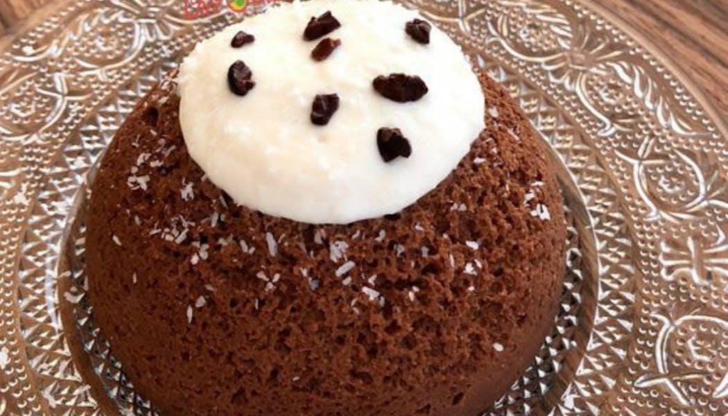 Bowl cake coco et chocolat