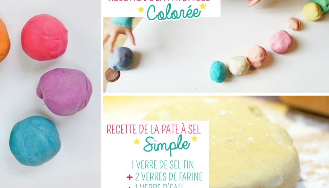 Bricolage : la recette de la pâte à sel