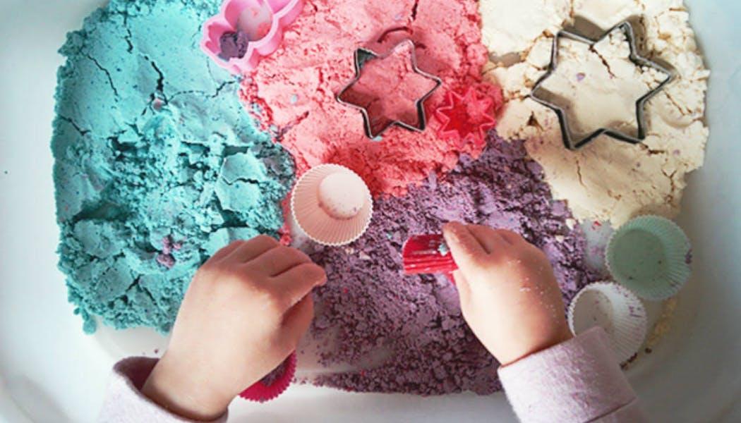 Bricolage : la recette du sable magique