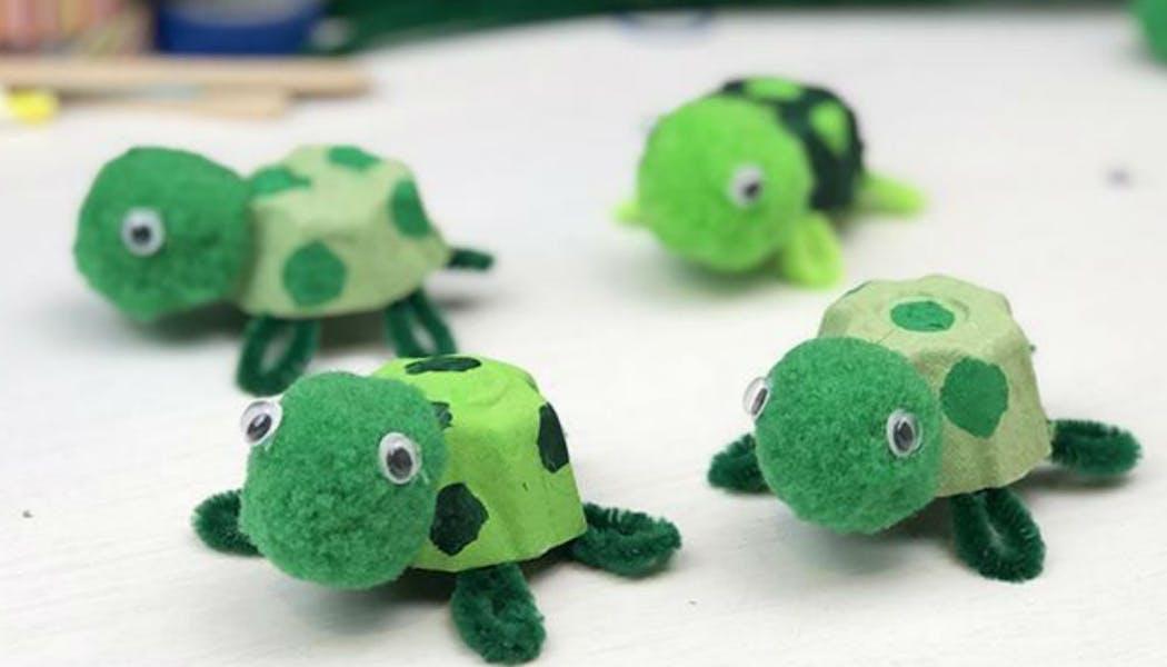 Bricolage : les petites tortues