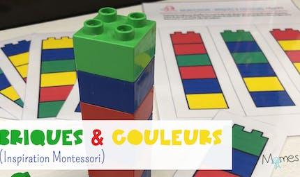 Briques & Couleurs (inspiration Montessori)