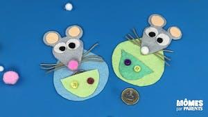 Cachette à dents et surprises Petite souris