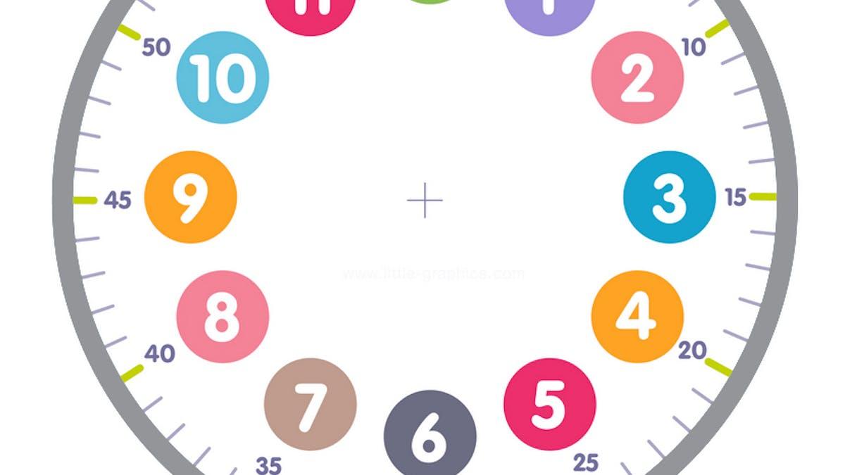 horloge à imprimer