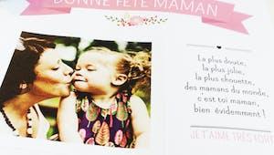 Cadre photo fête des mères