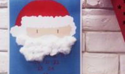 Calendrier de l'avent : Barbe du Père Noël
