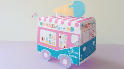 marchand de glace jouet