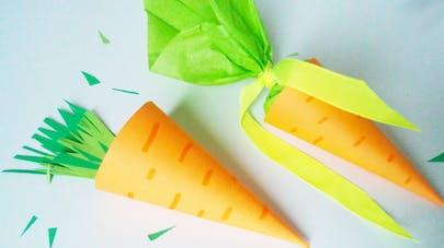 carotte en papier