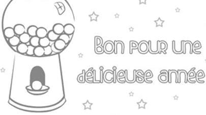 carte à bonbons
