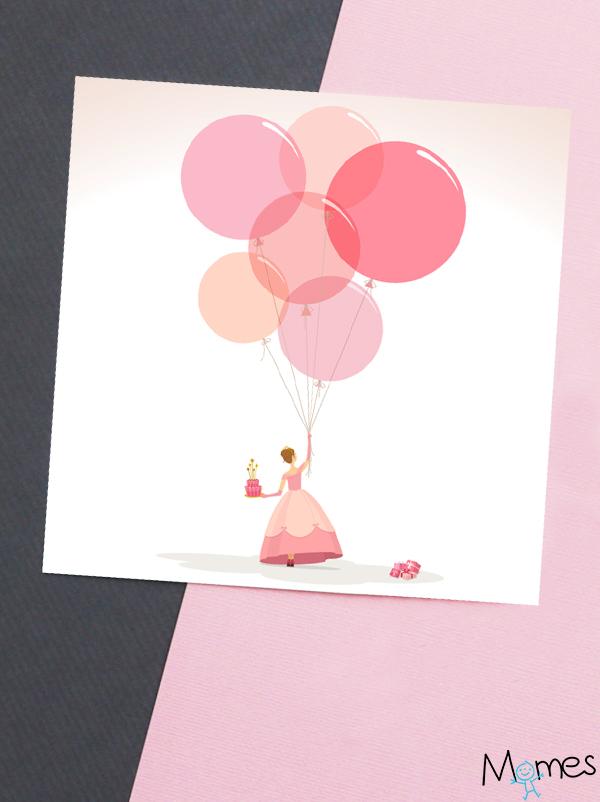 Carte Anniversaire Princesse A Imprimer Momes Net