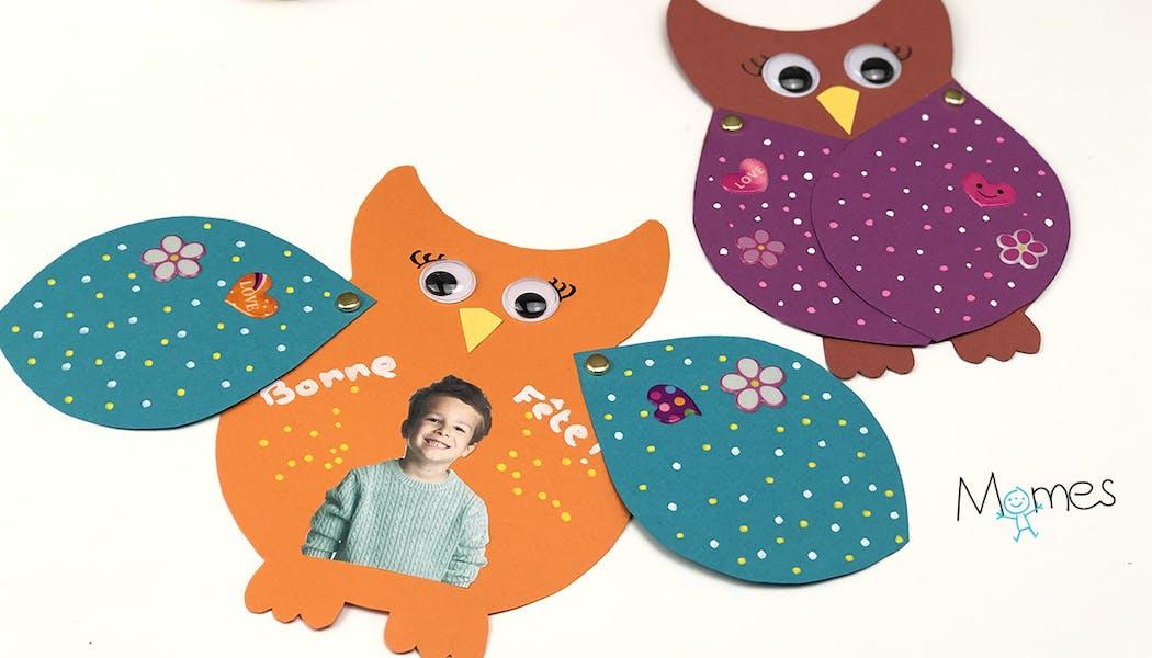 Cartes De Vœux Pour Enfants A Fabriquer Et A Imprimer Momes Net