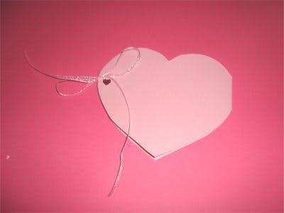 Carte en forme de coeur | MOMES.net