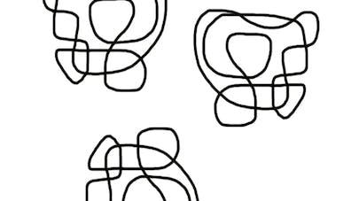 Casse-tête bicolore niveau 1
