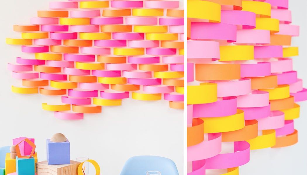 décoration en papier