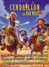 Affiche Cendrillon au Far West