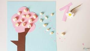 Cerisier en fleurs de pop-corn !