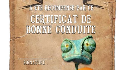 Certificat de bonne conduite - Rango