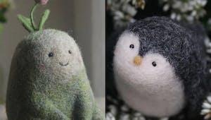 Ces adorables créations en laine feutrée sont totalement craquantes !