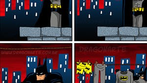 Cet artiste dessine la vie quotidienne des super-héros !