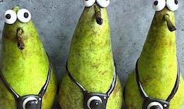 Cette maman géniale transforme les fruits et légumes en personnages adorables