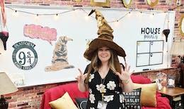 Cette professeure décore sa classe version Harry Potter
