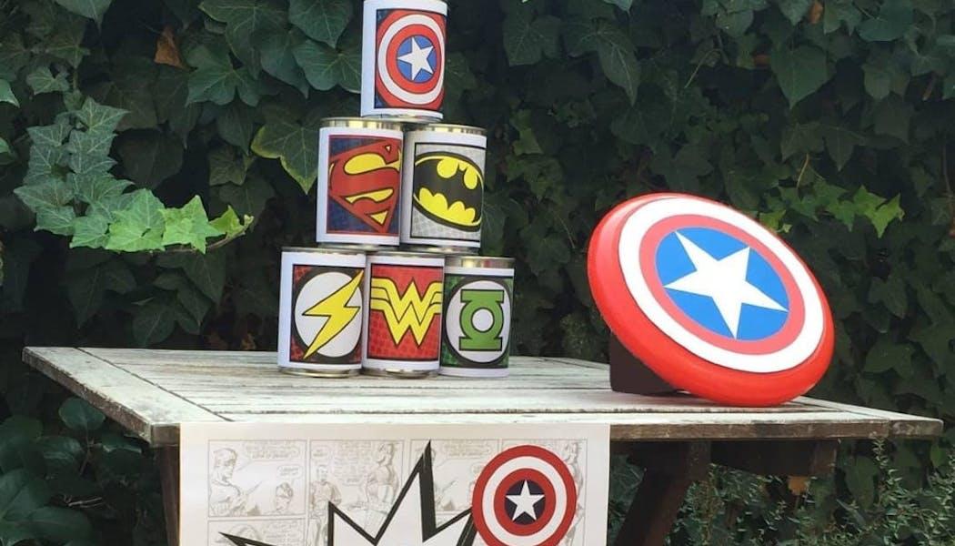Chamboule-tout de super-héros