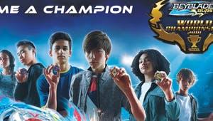 Championnat du monde de toupies Beyblade à Kidexpo !