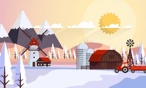 Chanson pour les enfants l'hiver