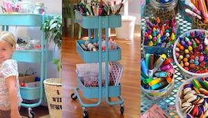 Créer un espace créatif à la maison