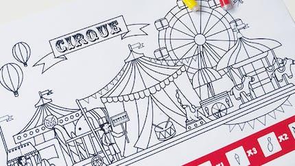 Cherche et trouve au cirque