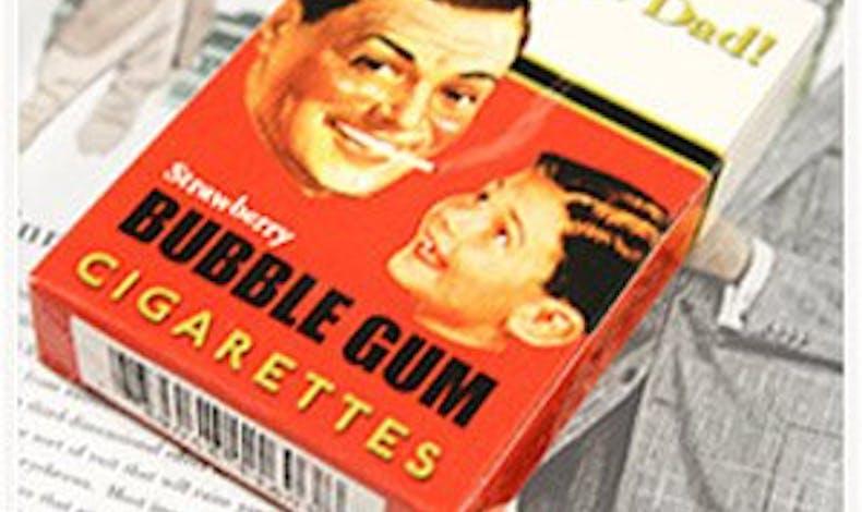 Cigarettes chewing-gum