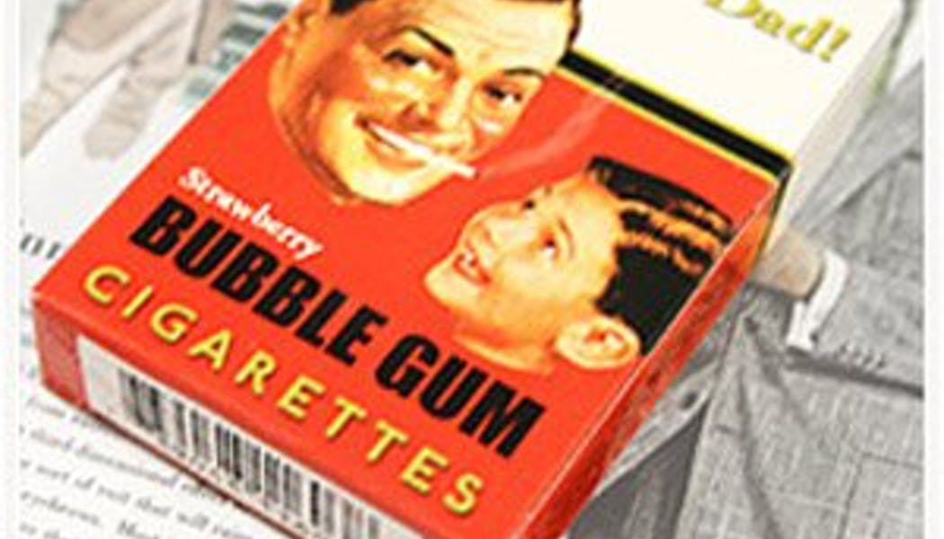 Cigarettes chewing-gum