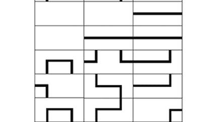 Circuit en morceaux : puzzle
