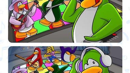 Club Pinguin : jeu des 7 différences (2)